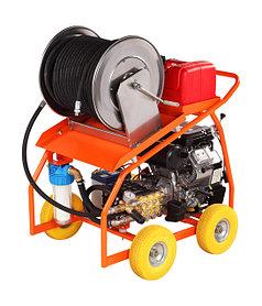 Гидродинамические аппараты для очистки труб с бензиновым двигателем