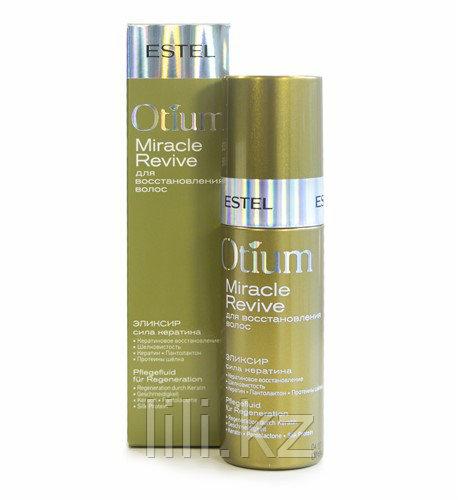 """Эликсир для восстановления волос """"Сила кератина"""" Estel OTIUM Miracle, 100 мл."""
