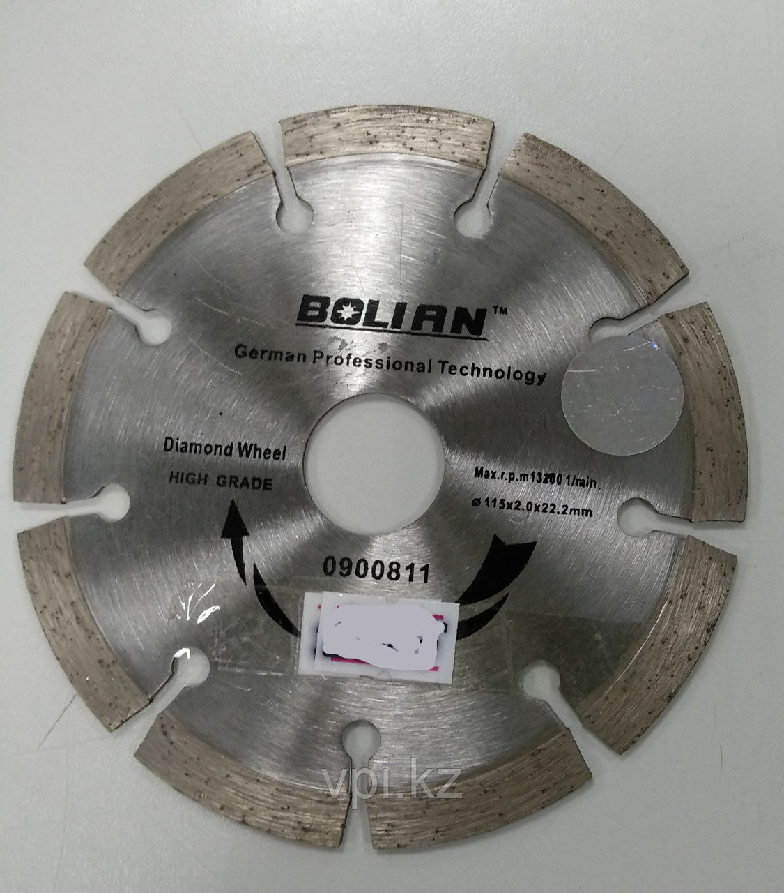 Круг алмазный отрезной,  сухой рез  150*22.2 BOLIAN