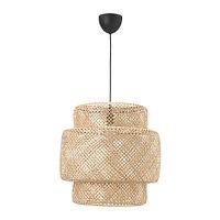 Светильник подвесной СИННЕРЛИГ бамбук ИКЕА, IKEA , фото 1