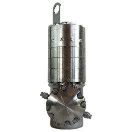 Самовращающаяся насадка для очистки емкостей MW586A