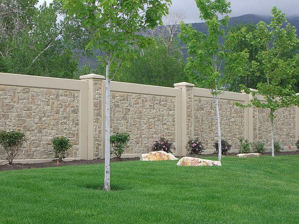 Забор из бетона декоративный купить купить бетон монолит