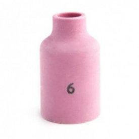 Сопло керамическое под газовую линзу (TIG), № 6 д. 9,5мм