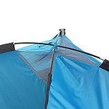 Палатка туристическая SANDE 2-х местная, цвет синий , фото 4