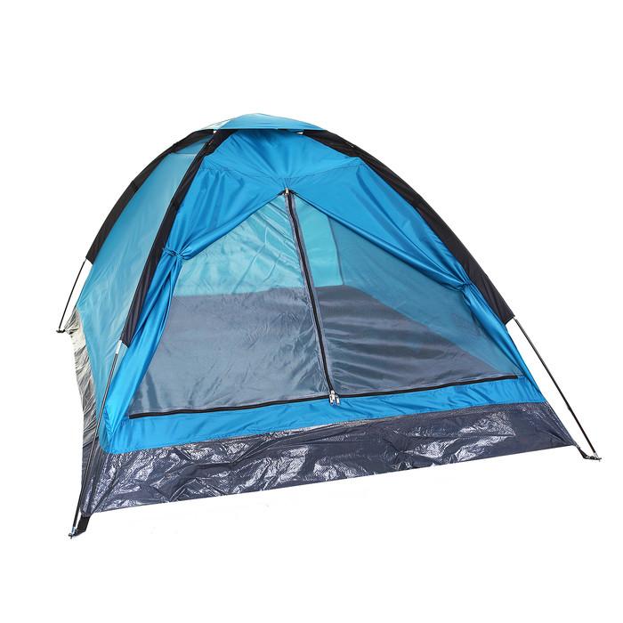 Палатка туристическая SANDE 2-х местная, цвет синий