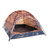Палатка туристическая SANDE II 2-х местная, цвет лес, фото 2