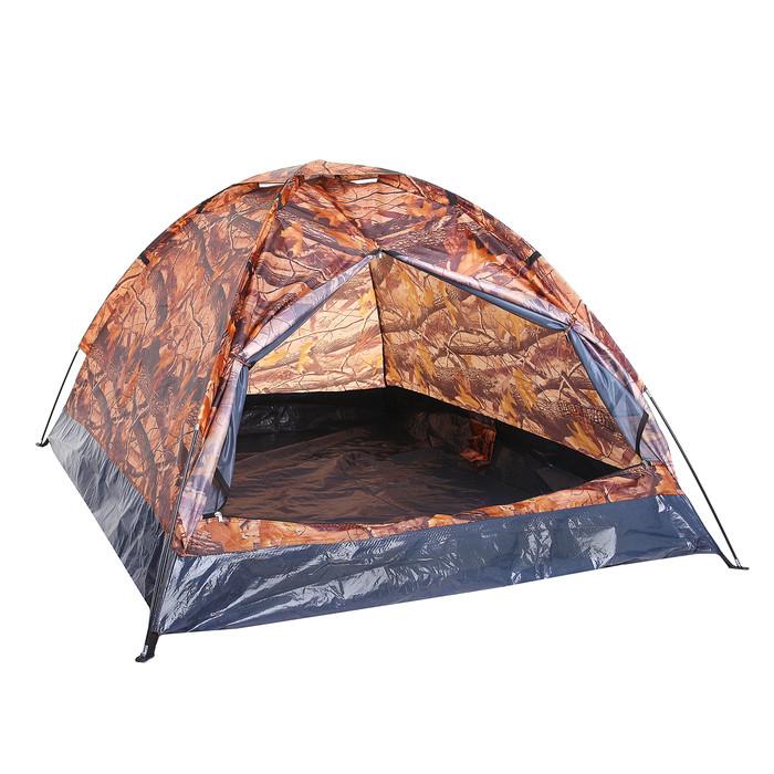 Палатка туристическая SANDE II 2-х местная, цвет лес - фото 2