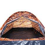 Палатка туристическая SANDE II 2-х местная, цвет лес, фото 3