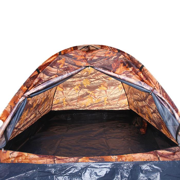 Палатка туристическая SANDE II 2-х местная, цвет лес - фото 3