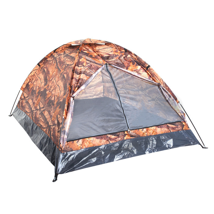 Палатка туристическая SANDE II 2-х местная, цвет лес
