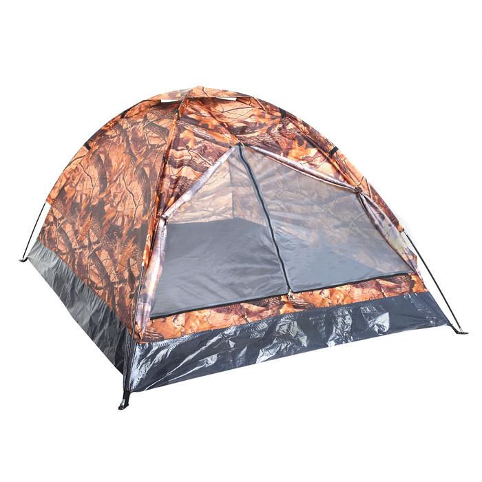 Палатка туристическая SANDE II 2-х местная, цвет лес - фото 1