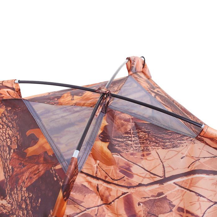 Палатка туристическая SANDE II 2-х местная, цвет лес - фото 4