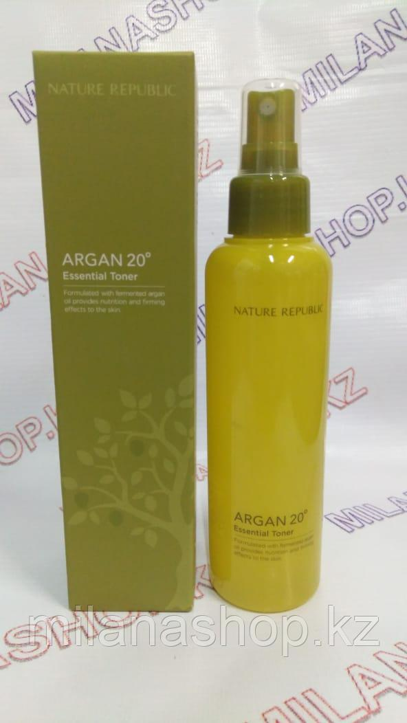 Nature Republic Argan 20º Essential Toner - Тонер антивозрастной