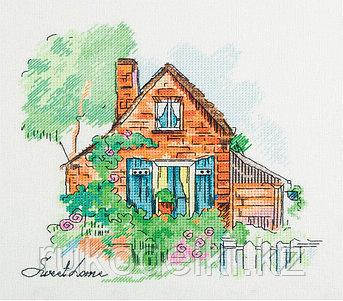 """Набор для вышивания крестом """"Уютный домик"""""""