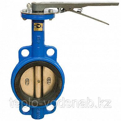 Затвор Ci поворотный дисковый (бабочка) межфланцевый Ду 125 PN16 бар