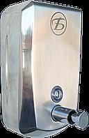 """Дозатор/Диспенсор """"BD-2260-500"""" настенный антивандальный из нержавеющей стали"""