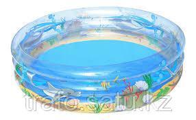 Бассейн детский Морская жизнь  Bestway 201х53см