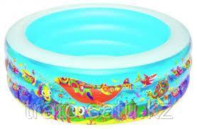 Надувной бассейн Подводный мир Bestway 196х53 см