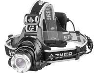 Фонарь налобный светодиодный, 3 режима Зубр Профи (6Вт(450Лм), 4АA)