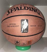 Баскетбольный мяч Spalding замша, фото 2