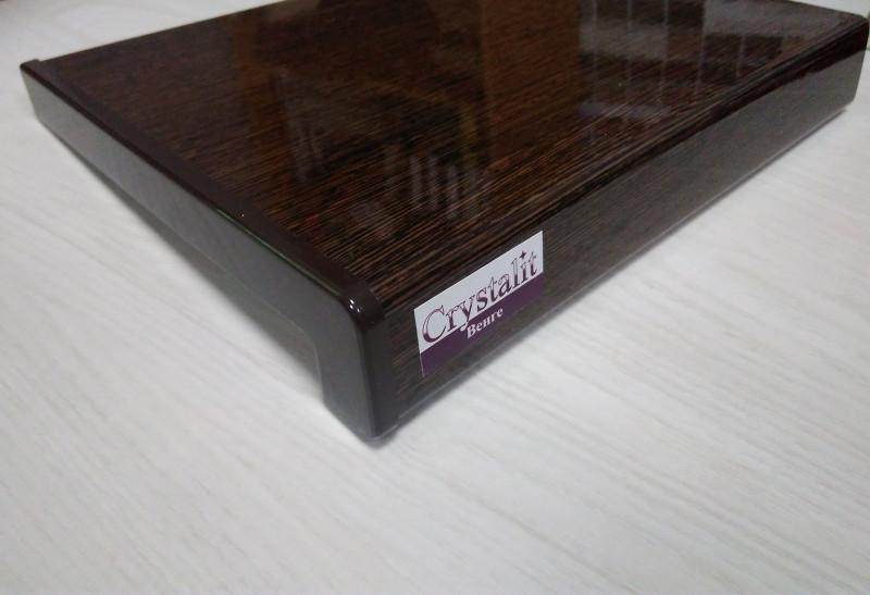 Пластиковый Подоконник Crystallit Венге 30см