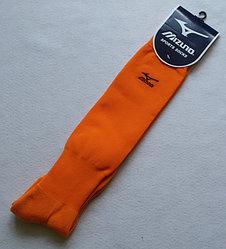 Футбольные гетры Mizuno- оранжеый