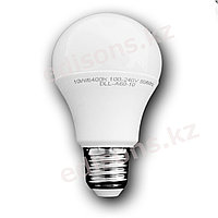 DLL-A60-9 Светодиодная лампа  Е27-9Вт 3000К.ОПТОМ