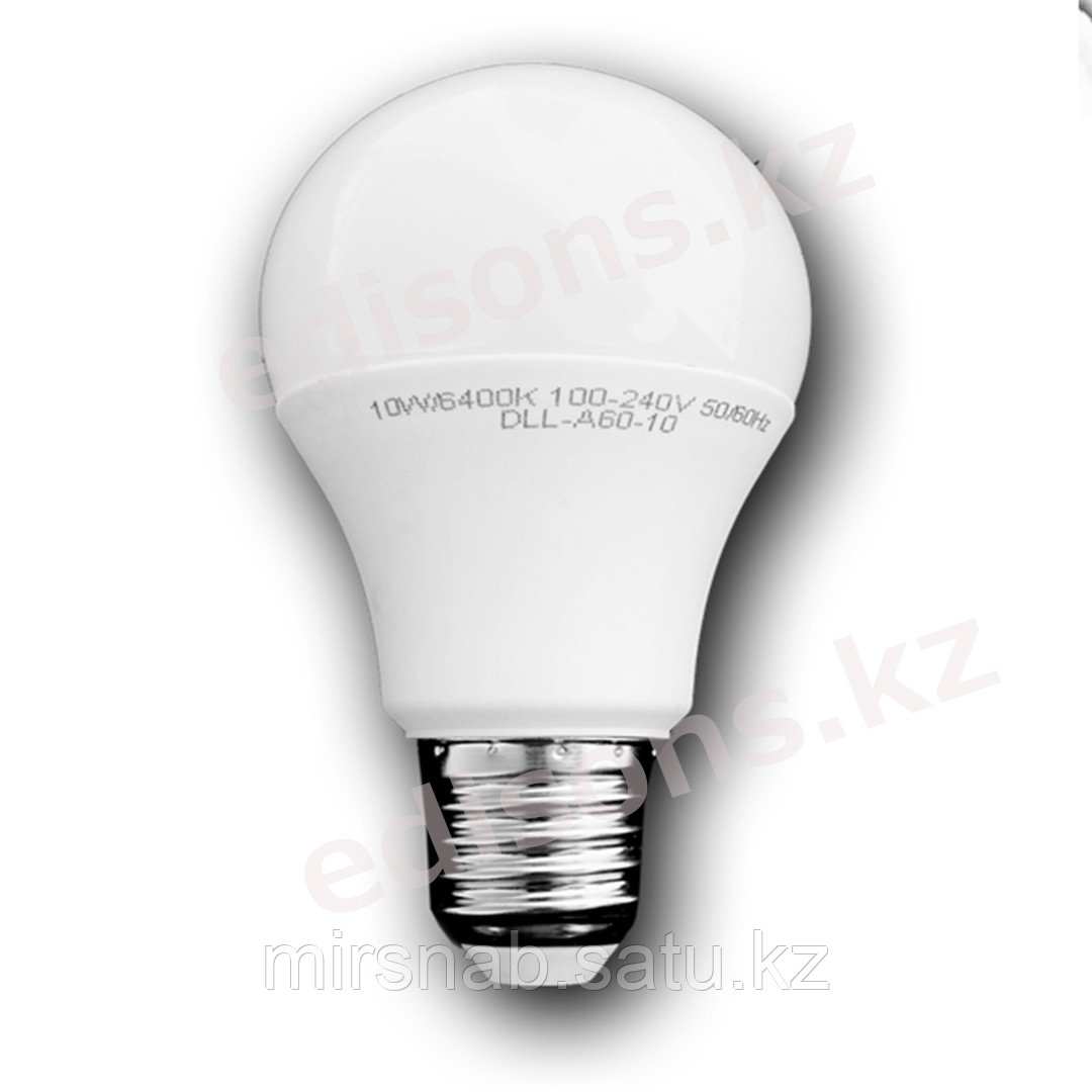 DLL-A60-9 Светодиодная лампа  Е27-9Вт 6000К.ОПТОМ