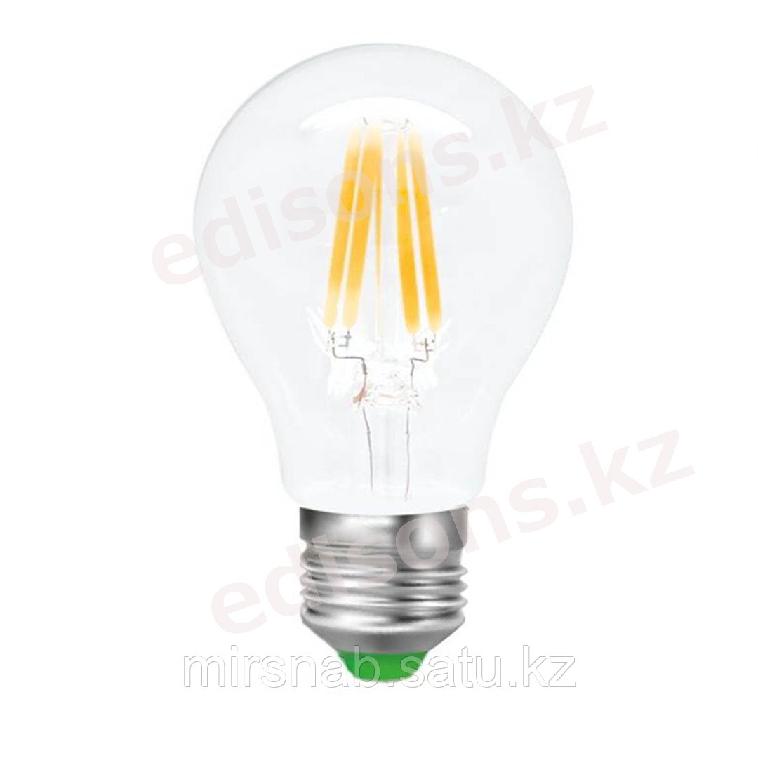DLL-FA60-10 Светодиодная лампа филамент  Е27-10Вт 4000К.ОПТОМ