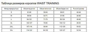 Корсет латексный Waist Trainer, фото 2