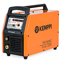 Сварочный полуавтомат инверторный многофункциональный с синергетическим управлением и импульсным режимом Kemppi Kempact Pulse 3000