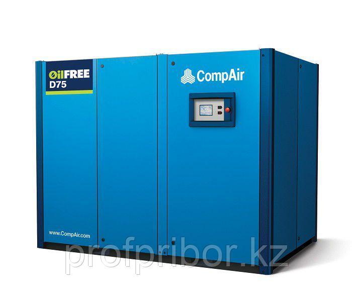 Винтовой безмасляный компрессор сухого сжатия CompAir D75-08A