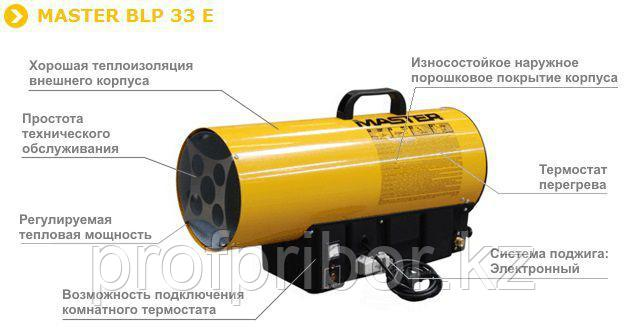 Газовая пушка MASTER BLP 33 E