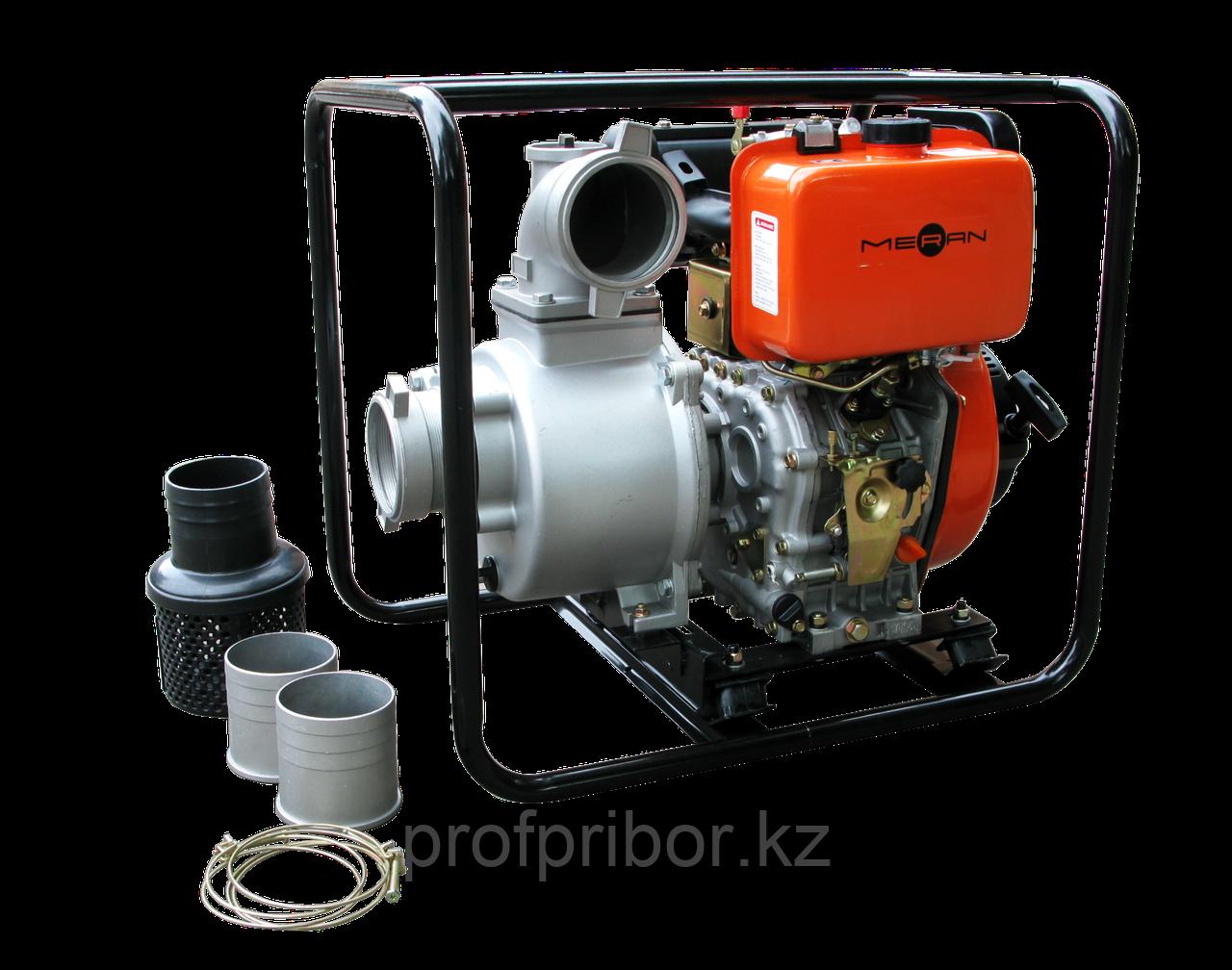 Дизельная мотопомпа для загрязненных вод Meran MPD401