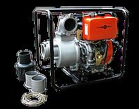 Дизельная мотопомпа для загрязненных вод Meran MPD401, фото 1
