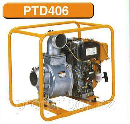 Дизельная мотопомпа для загрязненных вод SUBARU PTD406