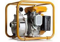Бензиновая мотопомпа для слабозагрязненных вод PTG208H (высоконапорная), фото 1