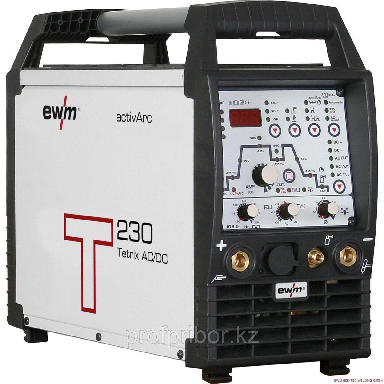 Инвертор для аргонодуговой сварки всех металлов EWM Tetrix 230
