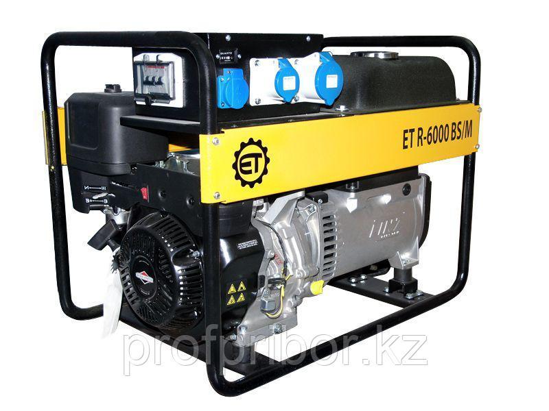 Бензиновая электростанция 6.0 кВа/1 фаза - RID-7001 BS/E