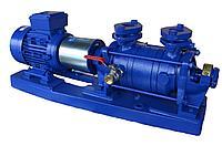 Вакуумный водокольцевой насос Hydro-Vacuum PW.4.13.1.1010.5 5,5кВт, фото 1