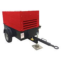 Винтовой дизельный компрессор Chicago Pneumatic CPS 5.0 на шасси