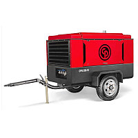 Винтовой дизельный компрессор Chicago Pneumatic CPS 350-12 на шасси