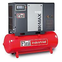 Винтовой компрессор на ресивере с осушителем K-MAX 1113-500F-ES