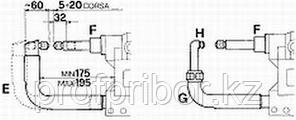 Изогнутое плечо для 3323 (тип E) - TECNA 4883