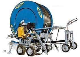 Ирригационная установка барабанного типа, капельного полива Idrofoglia - G6D