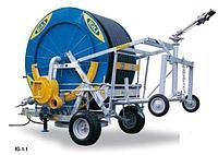Ирригационная установка барабанного типа, капельного полива Idrofoglia - IG1D