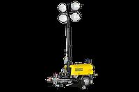 Мачта осветительная передвижная с электростанцией Wacker Neuson LTN 6L на шасси, фото 1