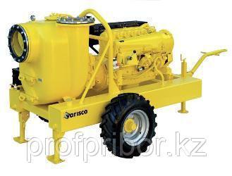 Дизельная грязевая мотопомпа Varisco JD 12-400 G10 RZD24 TRAILER