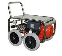Моечный аппарат высокого давления с электрическим двигателем рама нерж, фото 1