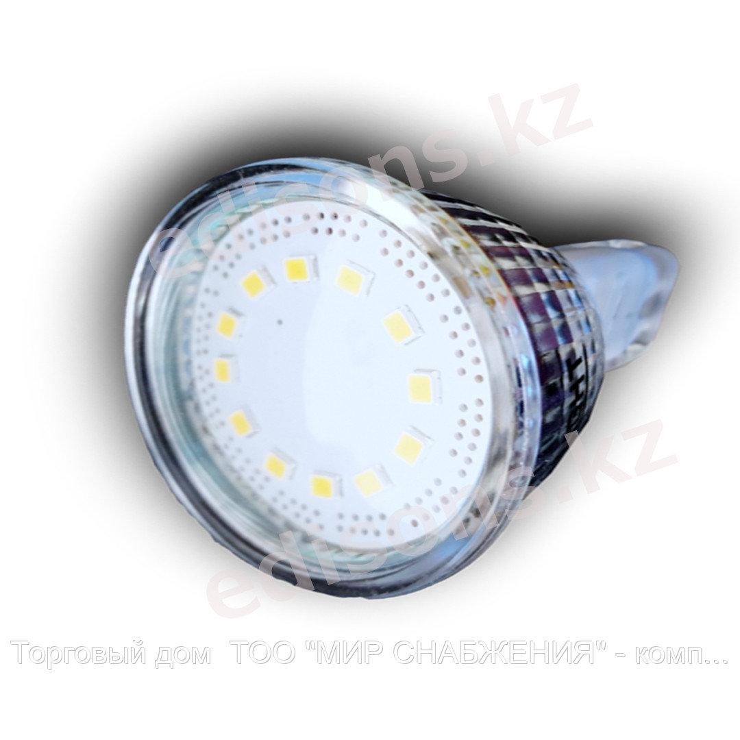 DLL-MR16-5 Светодиодная лампа GU5.3-5Вт Тип лампы: MR16 6000К.ОПТОМ